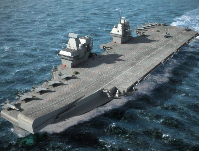 Queen Elizabeth aircraft carrier emi seals gaskets
