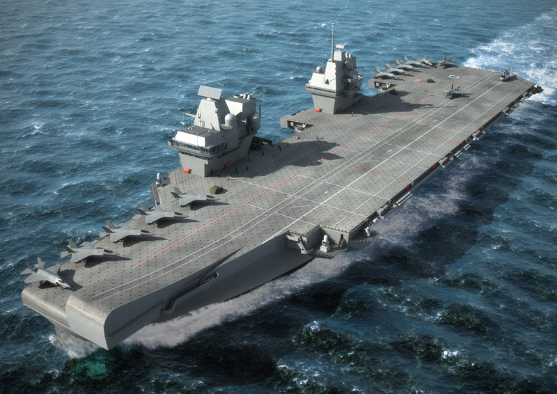 Queen Elizabeth aircraft carrier emi seals gaskets