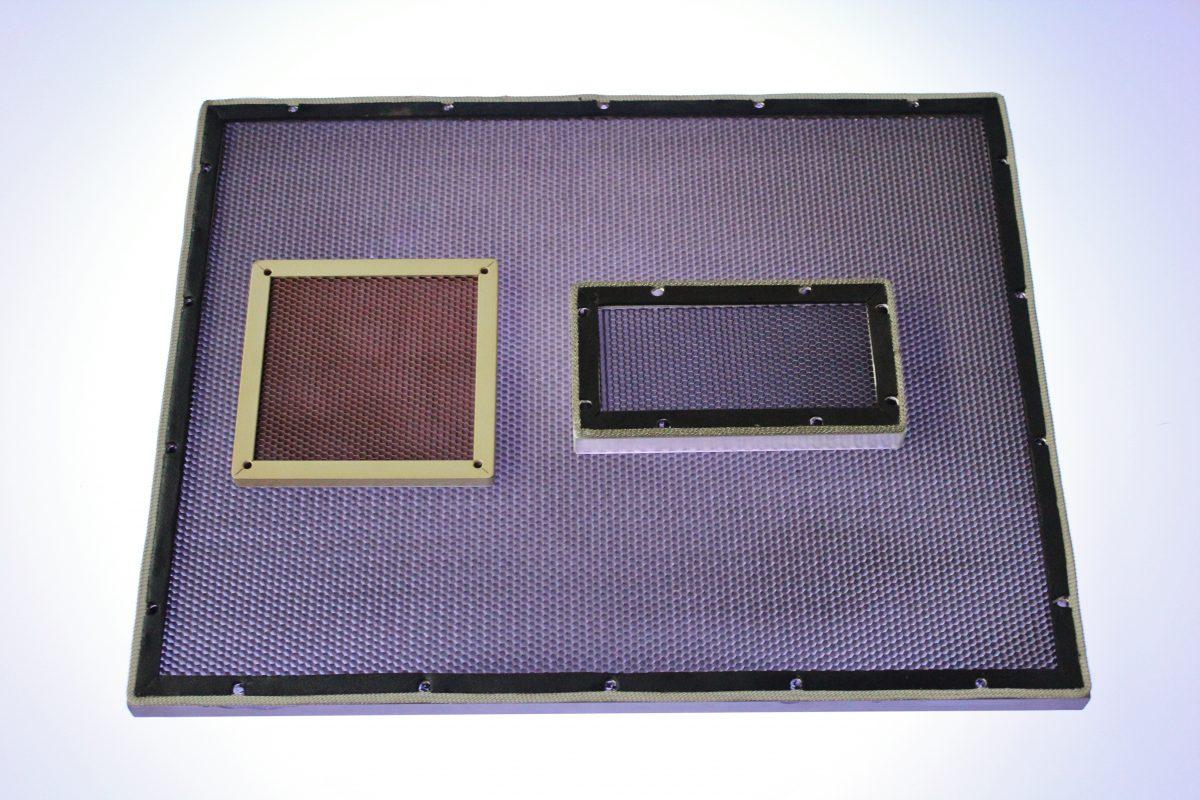 Vent panels EMI RFI Shielding seals gaskets